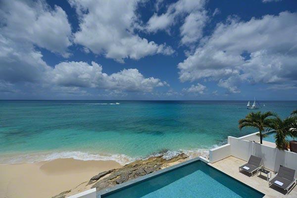 Oceanside villa on Cupecoy Beach in Shore Pointe. C FAR - Image 1 - Cupecoy - rentals