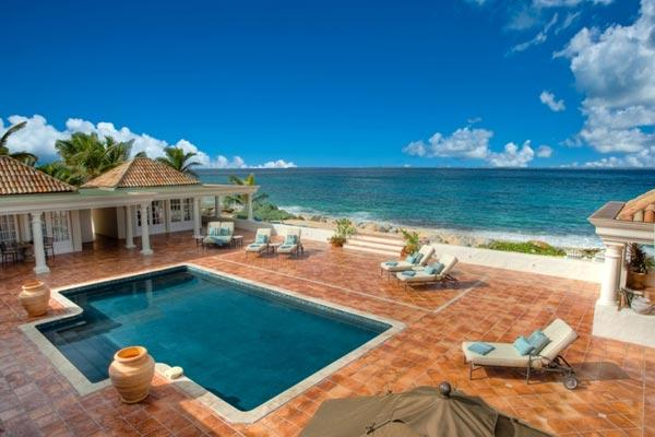 Set on Baie Rouge beach with sweeping views- minutes from Marigot by car. C WAR - Image 1 - Baie Rouge - rentals