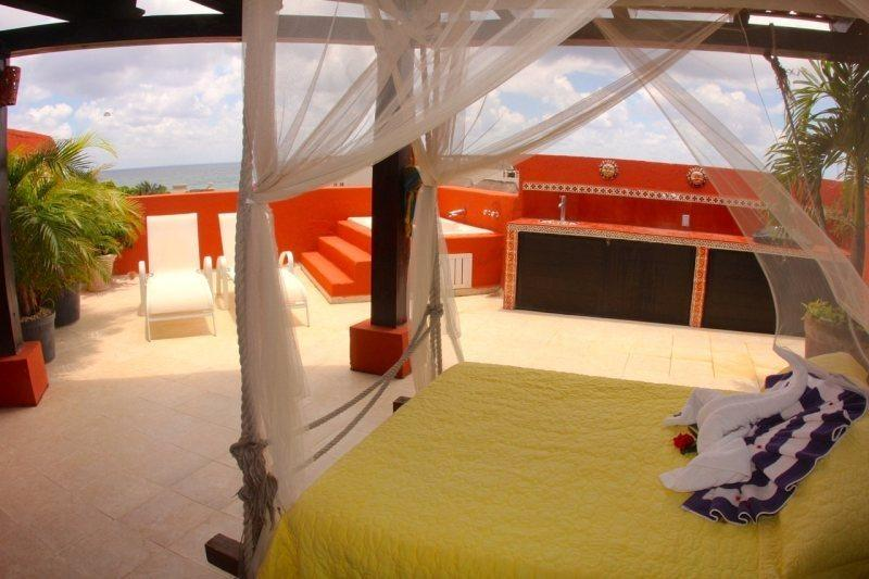 Penthouse at Mamitas Beach with great Ocean Views! - Image 1 - Playa del Carmen - rentals
