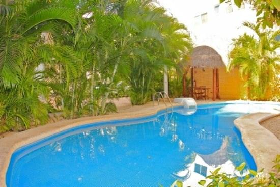 Directly off of the pool and steps to the Beach and 5th Avenue - Image 1 - Playa del Carmen - rentals