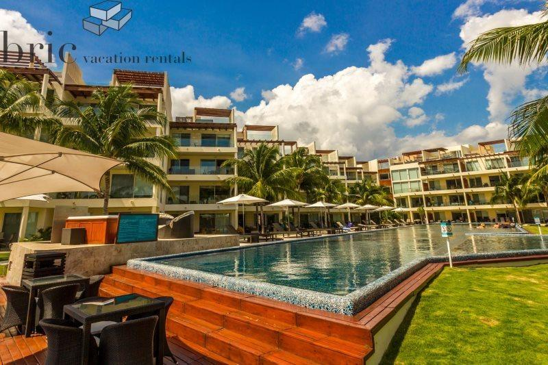 Great Beach and Ocean Views from this 2 Bedroom Home at The Elements - Image 1 - Playa del Carmen - rentals