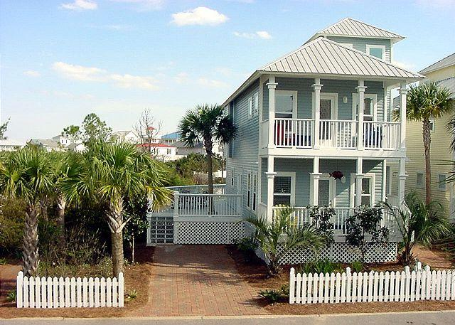Front View of Property ~ Santa Rosa Beach, FL - Dreamcatcher - Old Florida Cottage - Santa Rosa Beach - Community Pool - Santa Rosa Beach - rentals