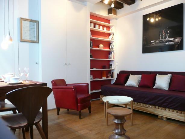 Charming studio in central Paris - Image 1 - Paris - rentals