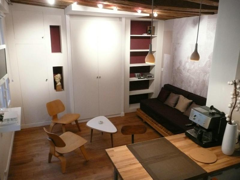 Purple studio in the center of paris - Image 1 - Paris - rentals