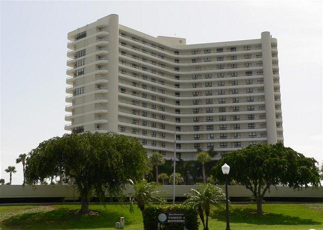 Front of Building - South Seas Tower 4 Unit 1204 - Marco Island - rentals