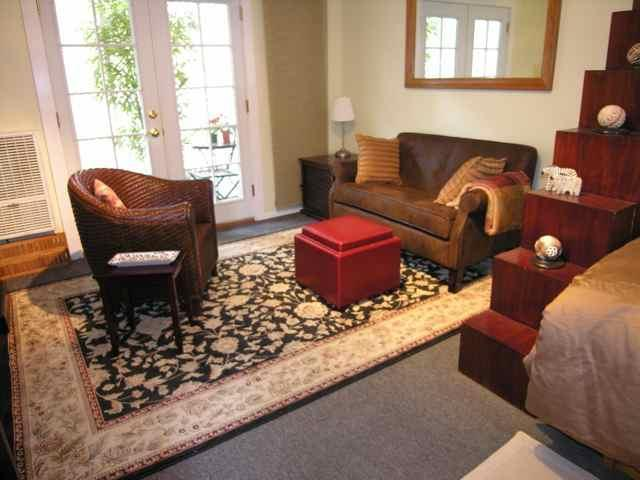 Studio / Living Room - Cosy Studio below Hollywood Sign - Beachwood Canyon - West Hollywood - rentals