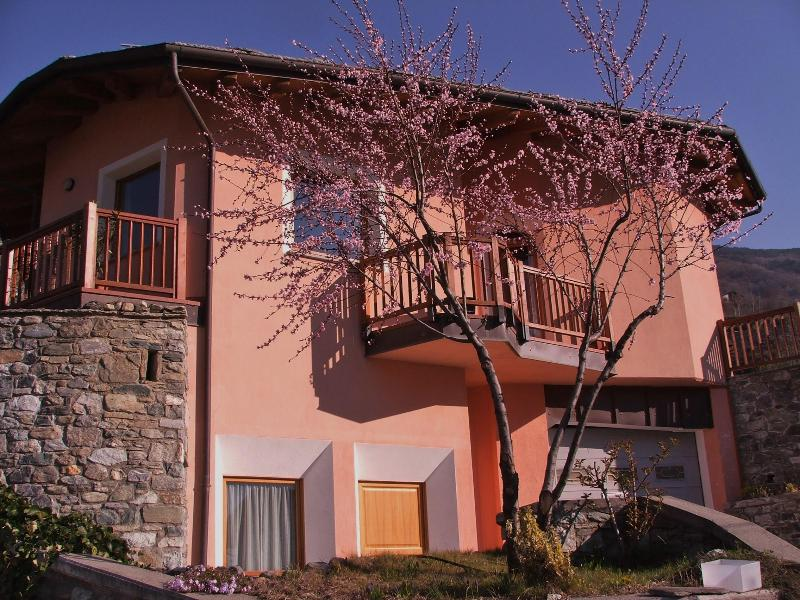 Spring in Nus. Both ski and sun! - Alpine flat in the Valle d'Aosta for 2/3 persons - Nus - rentals