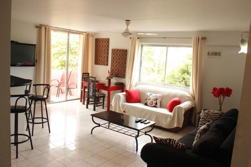 Spacious lounge - BEACHFRONT condo.. No 1 location in Ocho Rios - Ocho Rios - rentals