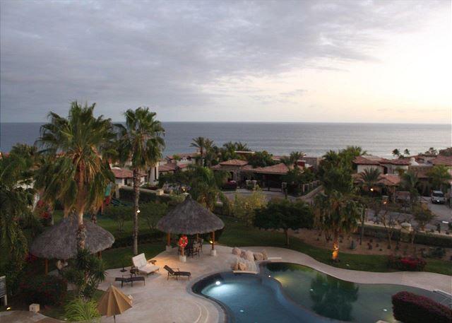 Pool Area - 4th Night Free Summer Special - Casa Cielo - 3BD/3.5BA Ocean View Condo - Cabo San Lucas - rentals