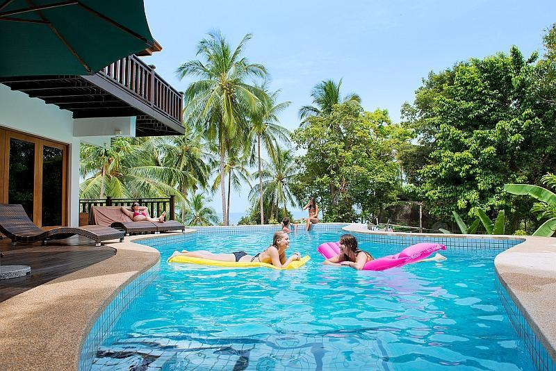 Private Pool and Sundeck - 4 Bedroom Luxury Villa with Private Swimming Pool - Koh Phangan - rentals