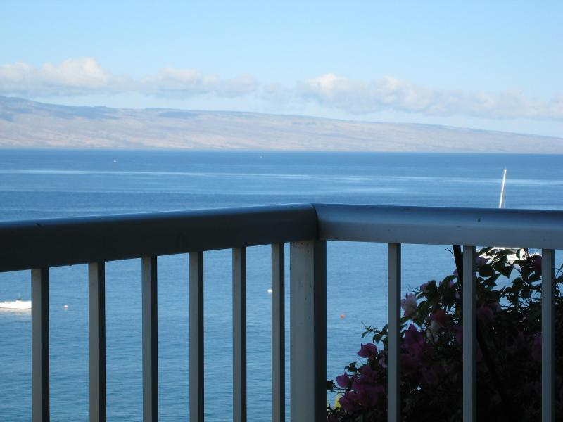 View from the lanai of my Condominium - Whaler 1063 A Stunning Maui Panorama - 10th Floor - Ka'anapali - rentals