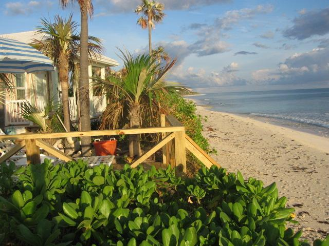 "The Pink Sand Cottage  ""RIGHT ON THE BEACH""  Wi Fi - Image 1 - North Palmetto Point - rentals"