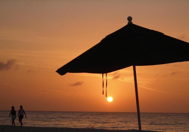 Sunset VIew from Regal Beach #523 - TripAdvisor Award Winner  3 years  2011,2012,2013 - Seven Mile Beach - rentals