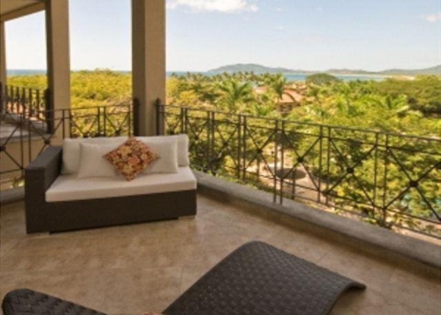 Balcony - Picturesque 2BR oceanview condo- near beach and town, WIFI MAT402 - Tamarindo - rentals