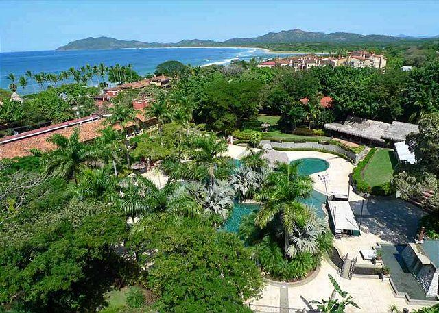 Balcony view - Luxury 2BR condo with great ocean view and amenities - Tamarindo - rentals