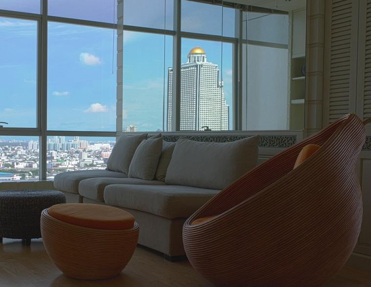 TheRiverSideBangkok  - corner panoramic river view - Image 1 - Bangkok - rentals
