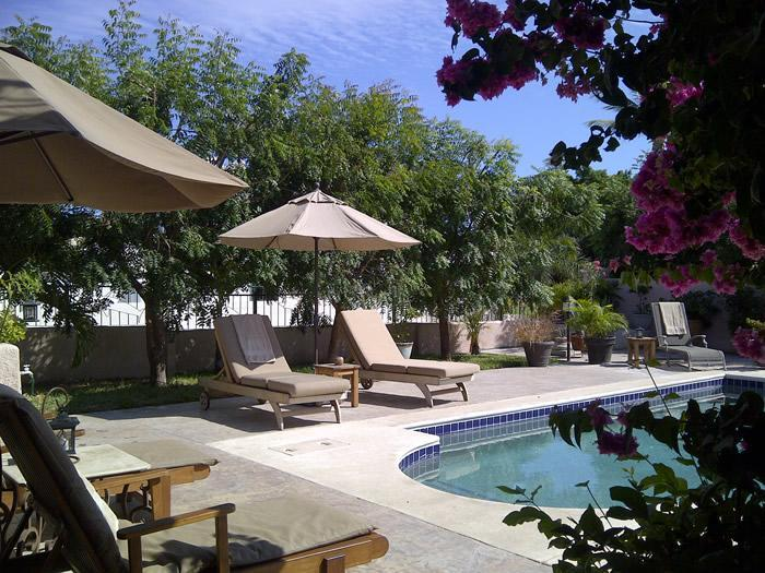 Poolside .. ahh the life - Villa on Golf Course, 1block off beach. - San Jose Del Cabo - rentals