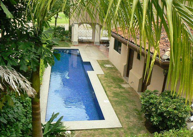 Lap pool - Oceanview home,Lap Pool, 50' Plasma TV,steps from most consistent break in CR - Playa Hermosa - rentals