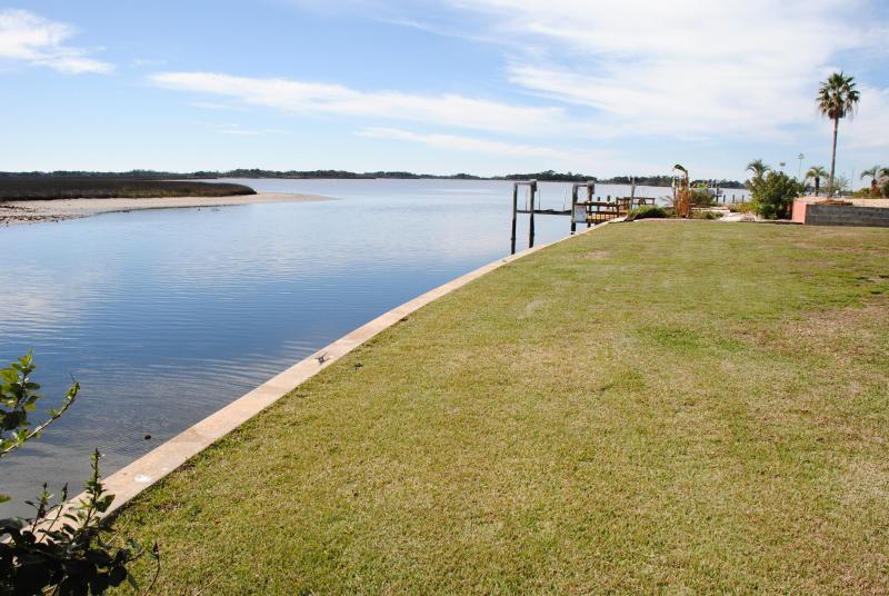 Back Yard - Native Vacations, Inc. - Manatee House - Crystal River - rentals
