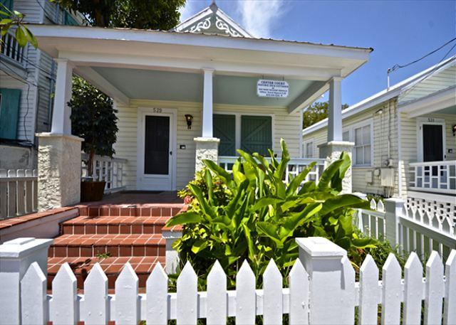 "This Beautiful Unit and It's 'Sister' - Next Door are part of the Tradewinds Group Unit and are Both 'Shotgun' Style Homes. - ""LEEWARD ISLE"" - Private Hot Tub - Private Parking - 1/2 Block To Duval St. - Key West - rentals"