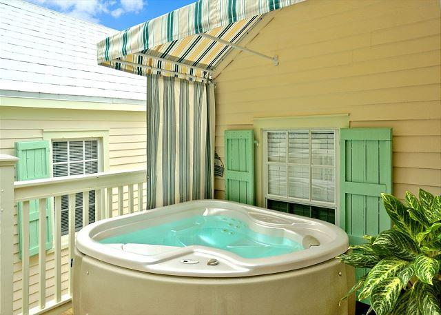 Hot Tub on Deck - OSPREY'S NEST - Secluded Key West Condo with Private Hot Tub & Balcony. - Key West - rentals