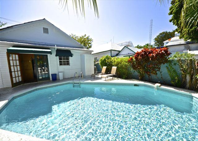 TROPICAL RETREAT- Upscale Home w/ Private Pool & BBQ Grill 1/2 Block To Duval - Image 1 - Key West - rentals