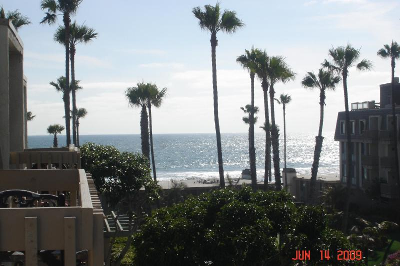 View from Lower Balcony - Penthouse Oceanview Condo - Oceanside - rentals