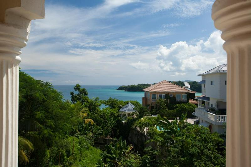 Beautiful View from Your Villa Balcony - OCEAN VIEW /CHAUFFEUR/POOL/BAR/ STEPS TO BEACH - Tower Isle - rentals