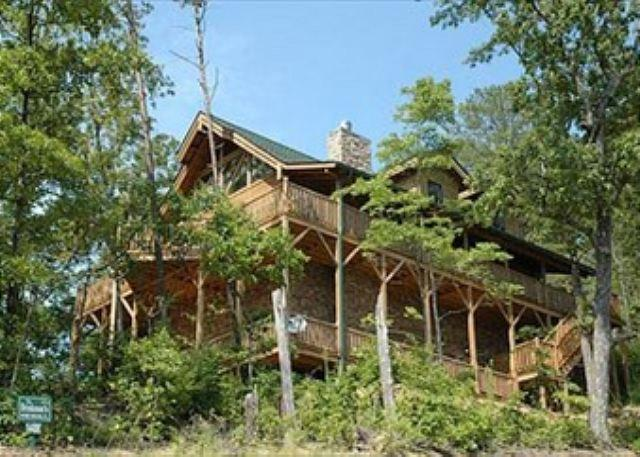 Absolutely Gorgeous Mountain Lodge with Total Privacy and Amazing Views! - Image 1 - Sevierville - rentals
