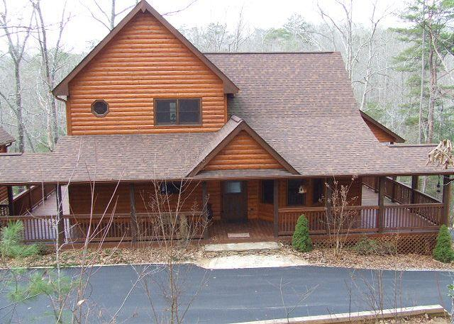 Front View - PEACE OF PARADISE - Blue Ridge - rentals