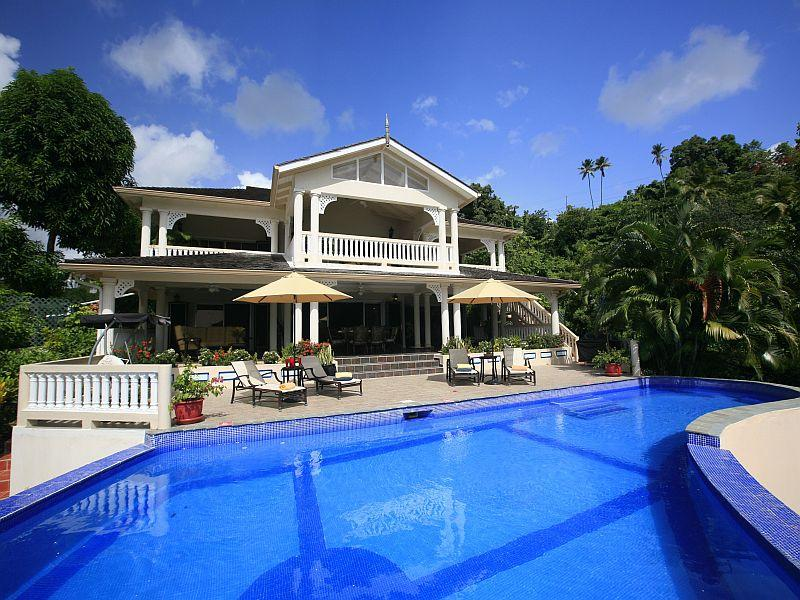 Marigot Sun Villa - Large Luxury Villa by the Bay - Image 1 - Marigot Bay - rentals