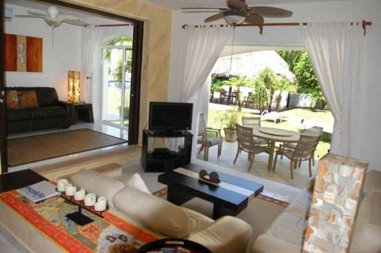 Villa Playamar Flamingo - Living room and studio - Playa del Carmen vacation rentals - Villa Playamar Flamingo - Playa del Carmen - rentals
