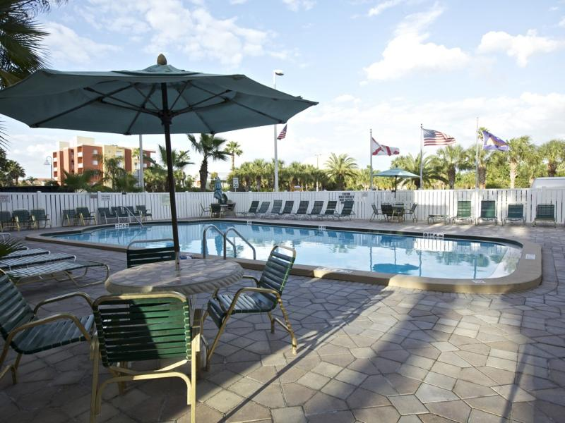 Relax with your laptop - out entire building has free Wi-Fi access - My Indian Shores Family Resort Vacation Condo - Indian Shores - rentals