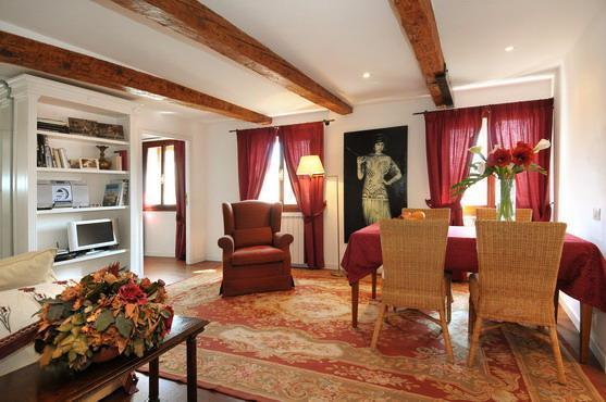 The living/dining area - Ca' Della Fornace - Venice - rentals