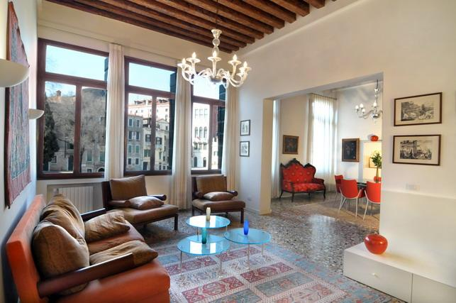 The main living area - Ca' San Polo - Venice - rentals