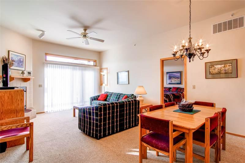 2 BR/2 BA, large comfy condo, exceptional views from multiple decks, sleeps 8 - Image 1 - Frisco - rentals