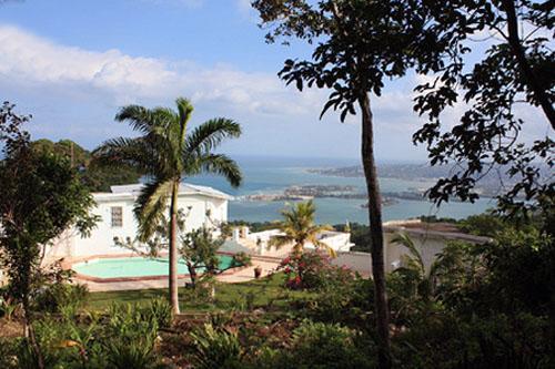 View of master Bed room - Anchorage Villa - Jamaica - rentals