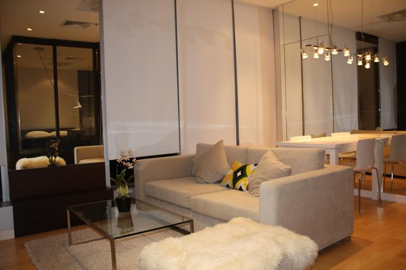 Smart ultramodern river view studio apartment,WiFi - Image 1 - Bangkok - rentals