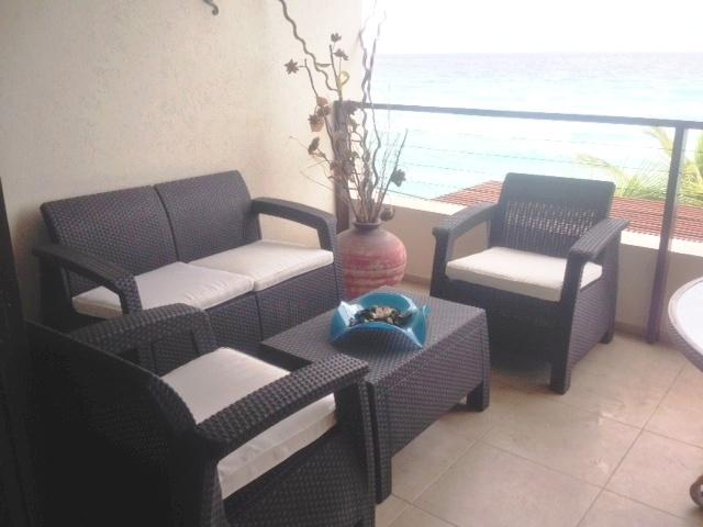 Chill out on the patio - Stunning-Sunset Beach @ St Lawrence Beach Condos. - Saint Lawrence Gap - rentals