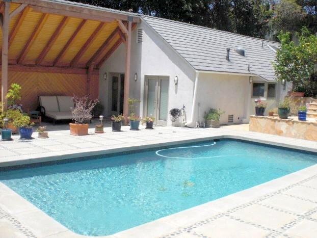 Santa Monica Luxurious 1 Bedroom Guest House PRIVATE Pool & ON THE OCEAN  (2876) - Image 1 - Santa Monica - rentals