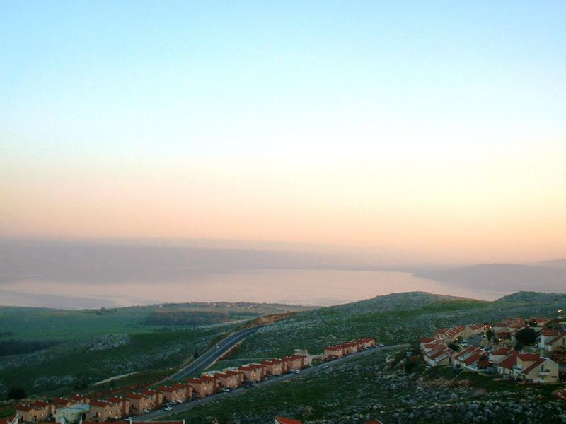 Panorama View of Sea of Galilee from Mahler's Guest House - Galilee B&B Spacious Family House + Lake View - Safed - rentals