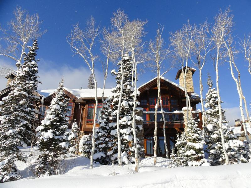 Front of Larkspur ski in ski out home - Ski in/out! 20-mile views! Mar/April now on sale! - Park City - rentals