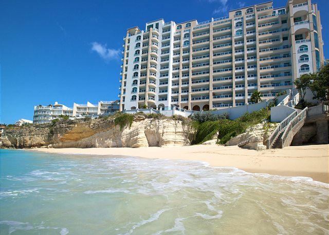 The Cliff's beautiful secluded beach - The Cliff at Cupecoy 2nd Floor * C2*, Stay 7 pay 6 - Starting at $300.00 US - Saint Martin-Sint Maarten - rentals