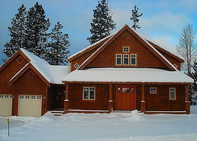 Exterior - Winter - Custom Builders Cabin!  Hot Tub | WiFi | Pet Friendly | *Specials* - Roslyn - rentals
