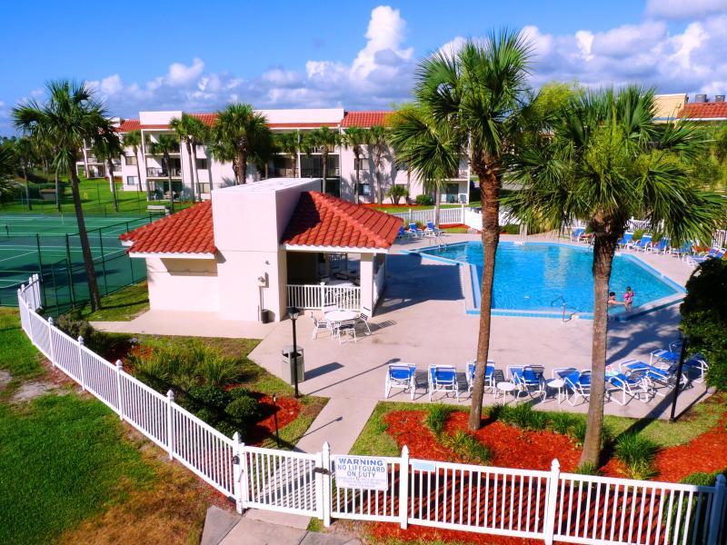 Ocean Village Club J32 View of Heated Pool Copyright #Anneflovc - Best BEACH Summer Rates-Pools, WIFI, Ocean Village - Saint Augustine - rentals