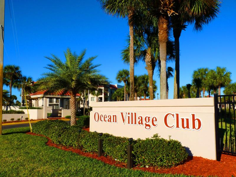 Ocean Village Club Beachfront Resort Gated, Fenced Oceanfront Community Copyright #Anneflovc - BEACH POOLS TENNIS BBQ WIFI J32 OCEAN VILLAGE CLUB - Saint Augustine Beach - rentals