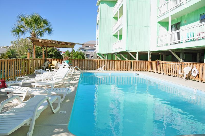 Poolside - saline pool - Unobstructed Ocean View! - Carolina Beach - rentals