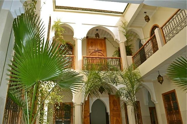 Courtyard - Riad Ma'ab - Marrakech - rentals