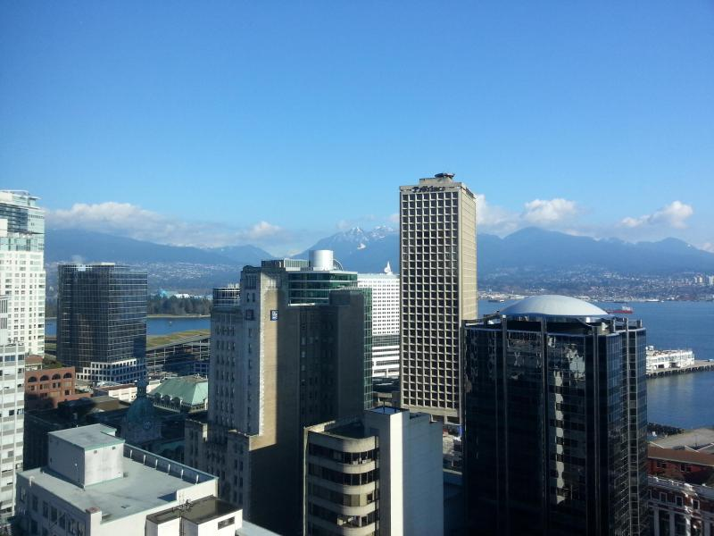 View From Apartment - Very close walking distance to Convention/Cruise Terminal - Harbour View DT 2BR by Convention/Cruise Center - Vancouver - rentals