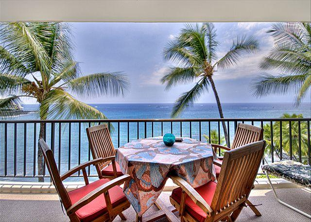 - Large Oceanfront 1 bedroom, 2 bath condo right down town, great Ocean views - Kailua-Kona - rentals
